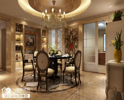 盛世滨江-132平-现代欧式-三室两厅