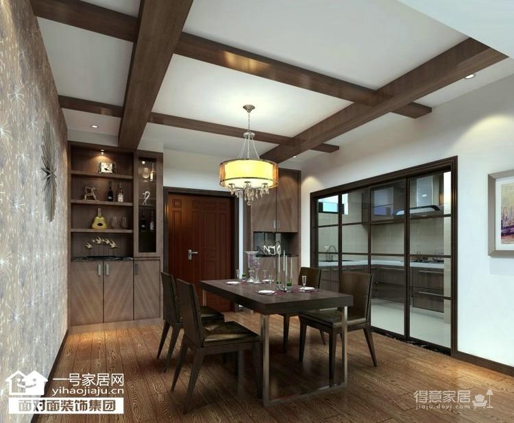 东湖尚郡-90平-简约中式-复式户型图_2