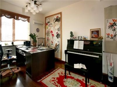 组-新古典风简约三居室 书房