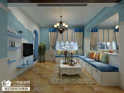 太子湖畔·星苑-114平-地中海-三室两厅