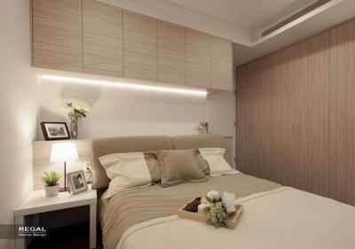 组-美式风格卧室效果图