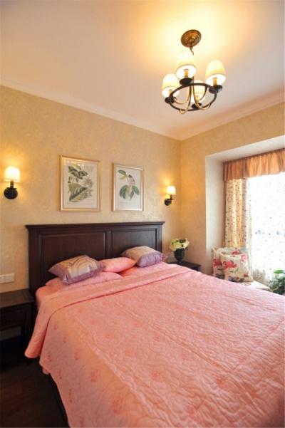 组-鸟语花香的美式家-卧室