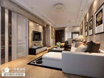 香榭琴台墨园-66平-现代简约-两居室