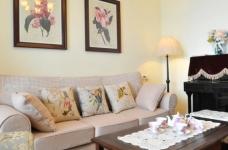组-鸟语花香的美式家-客厅图_3