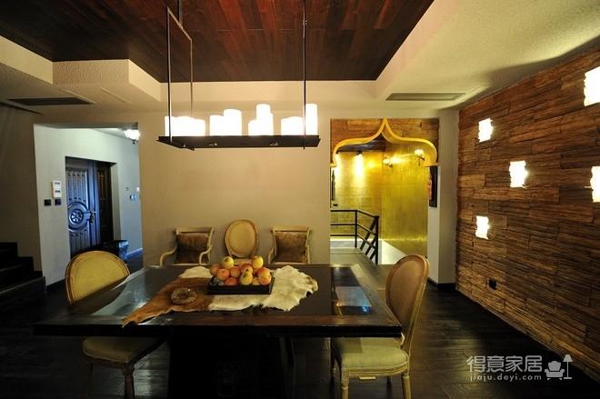 组-东南亚风格多彩别墅-客厅图_6