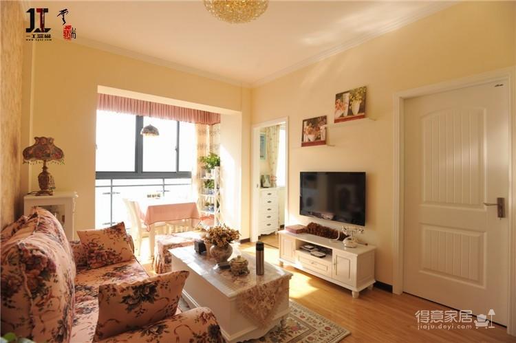 华腾园61平单身小公寓图_4