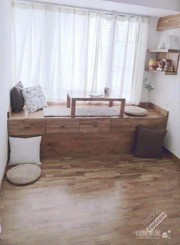 组-实木控的混搭三居室图_6