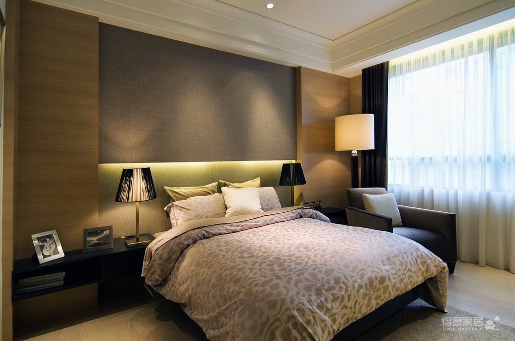 简约现代卧室图_39