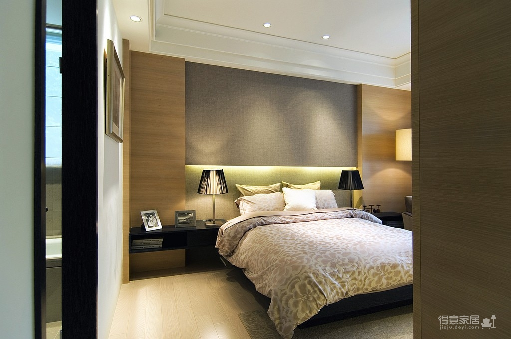 简约现代卧室图_42