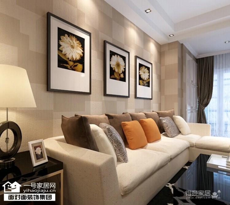 香榭琴台墨园-66平-现代简约-两居室图_2