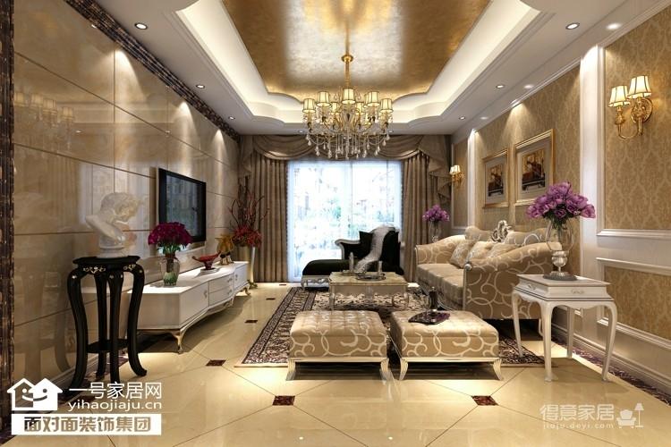 金地雄楚一号-110平-现代欧式-三室两厅图_1