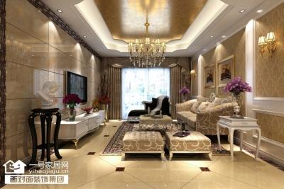 金地雄楚一号-110平-现代欧式-三室两厅