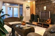 组-新古典风简约三居室 客厅图_3