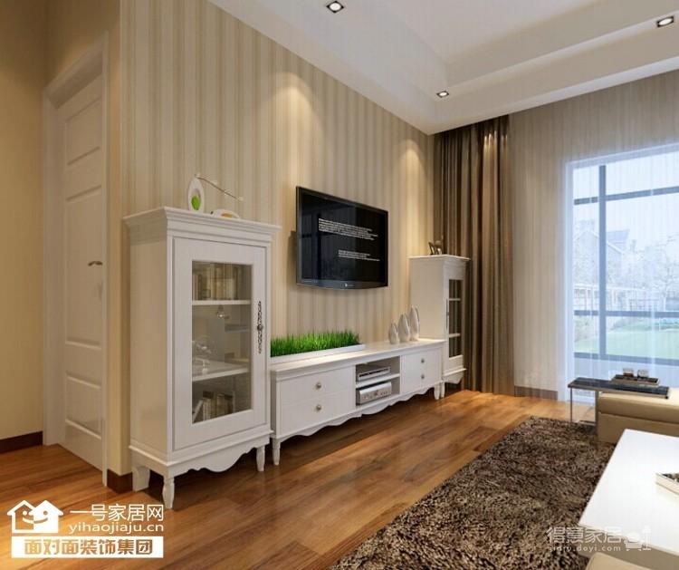 福晟滨江国际-88平-现代简约-两室两厅图_3