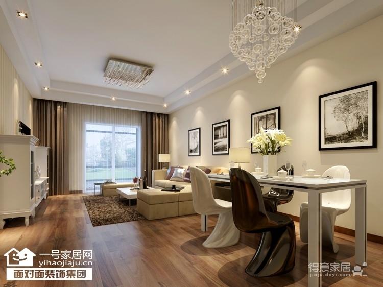 福晟滨江国际-88平-现代简约-两室两厅图_4