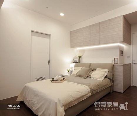 组-美式风格卧室效果图图_5