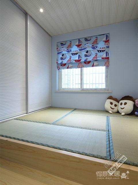 组-日式榻榻米卧室图_2