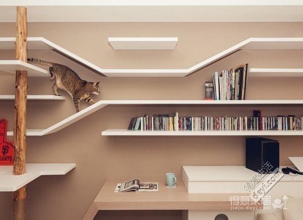 组-清新简约的猫咪之家图_3