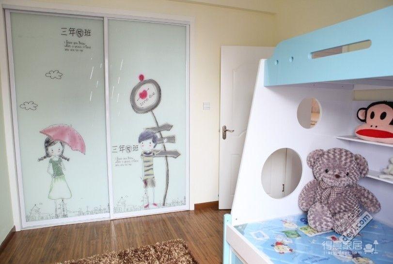 组-儿童房高低床图_2