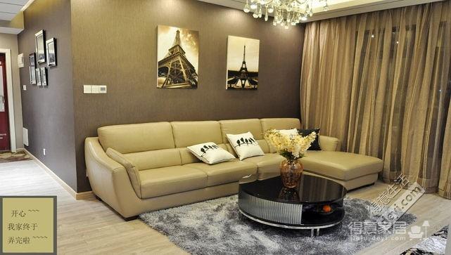 组-我的现代风三居室-客厅图_3