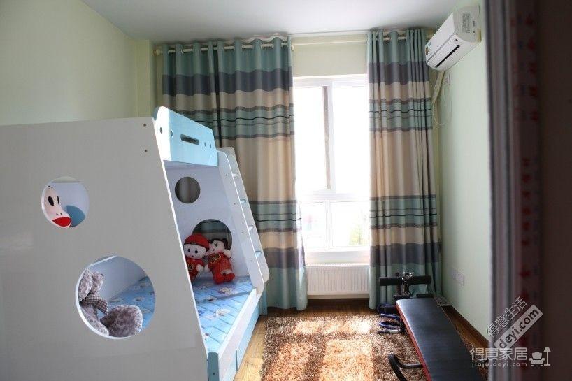组-儿童房高低床图_3