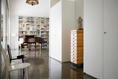 现代简约书房