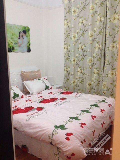 组-奶咖现代婚房-卧室图_4