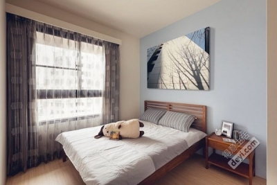 简约卧室装修案