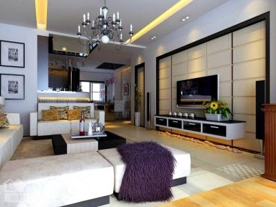 现代简约130平四居室装修设计图