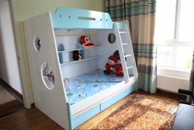 组-儿童房高低床