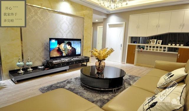 组-我的现代风三居室-客厅图_2