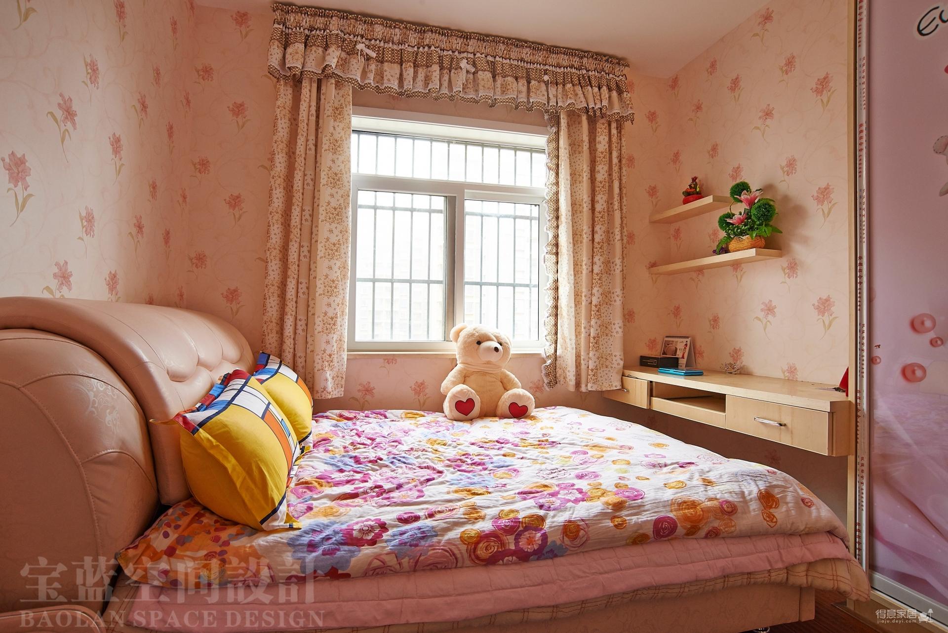 汉口湖畔-儿童房-粉色篇图_1