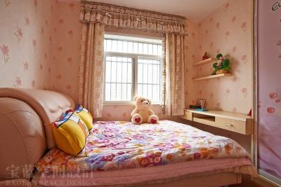 汉口湖畔-儿童房-粉色篇