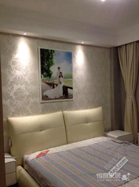 组-奶咖现代婚房-卧室图_3
