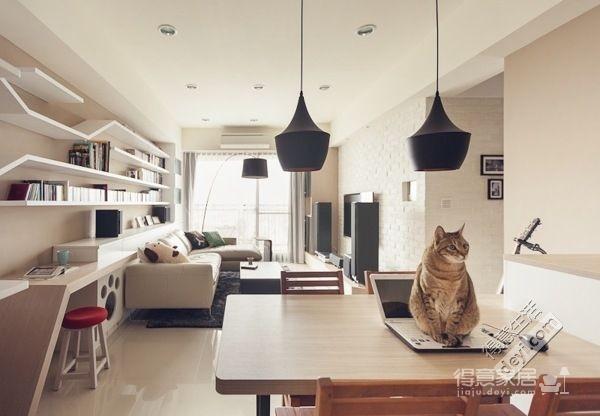 组-清新简约的猫咪之家图_7