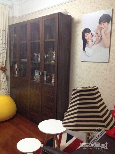 组-奶咖现代婚房-卧室图_2
