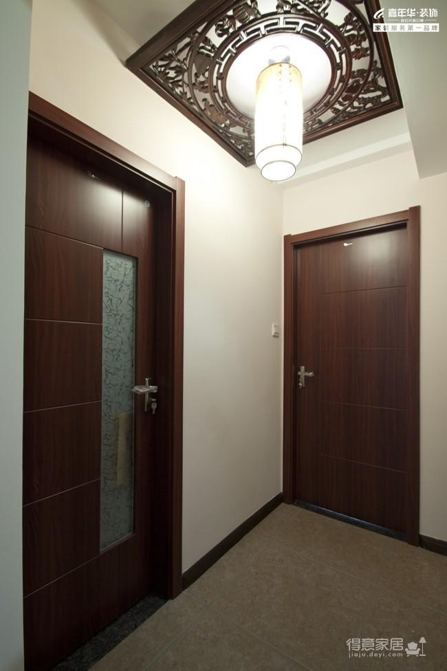 三室两厅简中风格 书香门第图_23