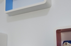 汉口湖畔-90平-儿童房-蓝色高低床图_2