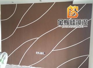 硅藻泥造型背景墙