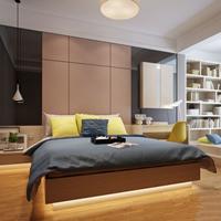 小空间也有大容量,两室两厅展现极致收纳美学!