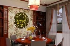 现代中式的别墅装修设计图图_2