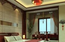 现代中式的别墅装修设计图图_3