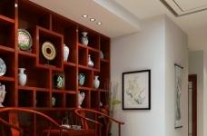 现代中式的别墅装修设计图图_6