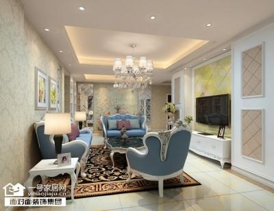 赛达国际-119平-现代简欧-三室两厅