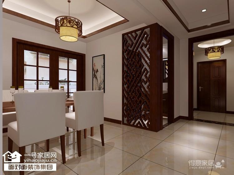 珞珈雅苑--130平-简约中式-三室两厅图_3