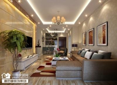 现代城-94平-现代简约-两室两厅