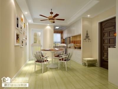 丽景雅苑-110平-现代混搭-两室两厅