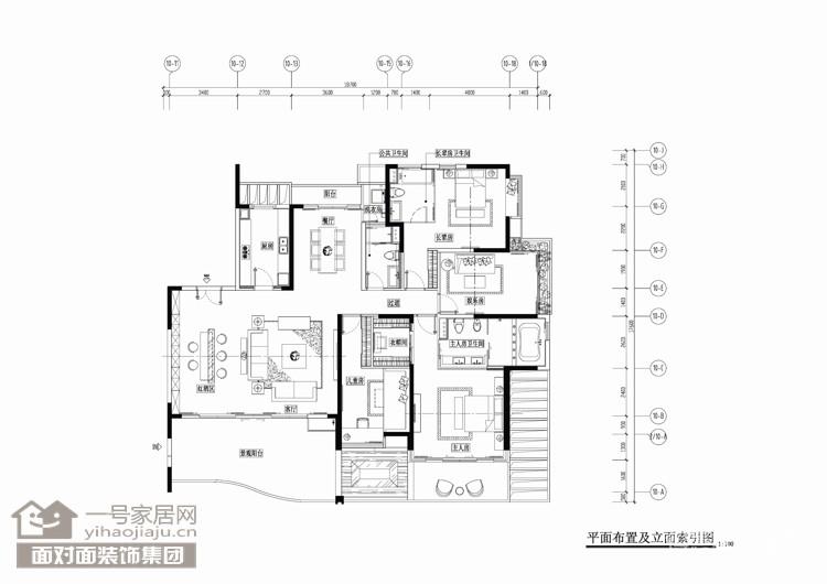 九鼎滨海御庭-160平-怀旧复古风-四室两厅图_2
