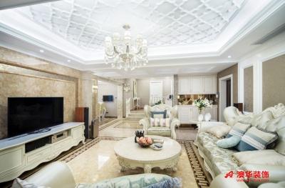 9.5万打造香江苑156平米浪漫满屋