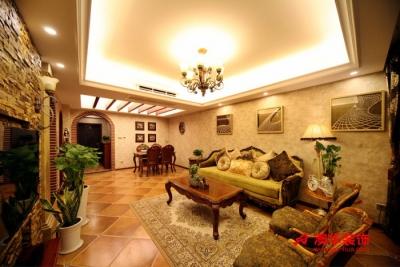 5.2万装修泛海国际92平米温馨两居室